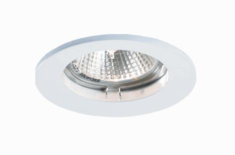LEDw@re LED inbouwframe | GU10 | 8,4 CM diameter | Wit
