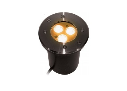 LED Grondspot | 230 Volt | Rond | 5 Watt | Warm Wit