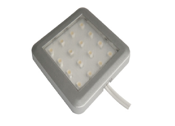 LEDw@re | Closet | LED Kastverlichting | Square | 1 Lampje | 1 W