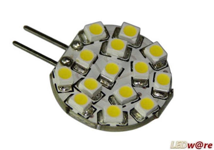 LED steeklampje | 12 Volt | 2,4 W | VV 10-15 W | Warm Wit | G4