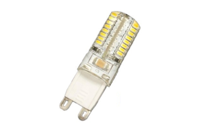 LED steeklampje | 220 Volt | 24 SMD LED | 3 W | VV 25 W | Warm W