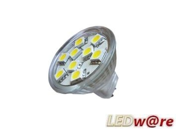 LED steeklampje | 12 Volt | 12 LED | 2,9 W | VV 20 W | Warm Wit