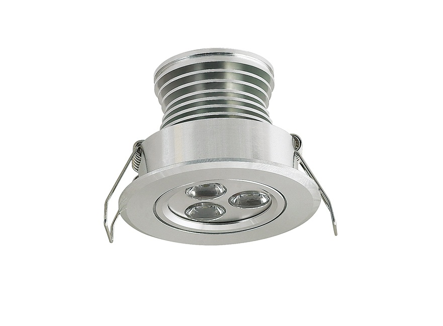 LEDware | LED inbouwspot | 1 LED | Rond | 3 W | 350mA | Warm Wit