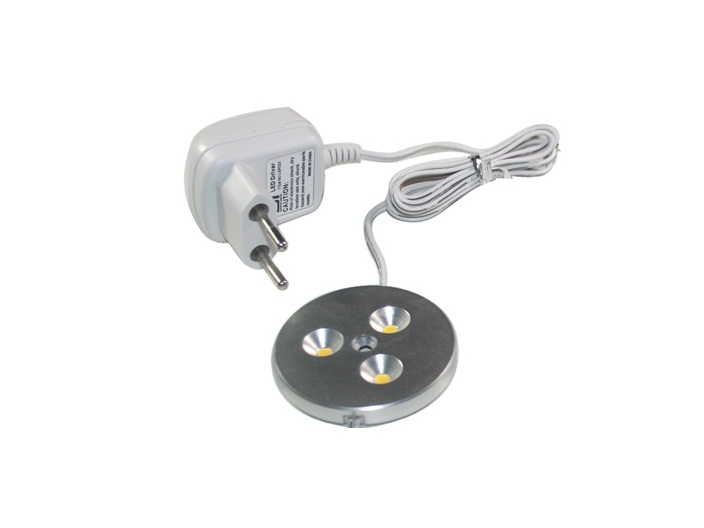 LEDware | LED Kastverlichting set | 1 Lampjes | 1 x 3 Watt