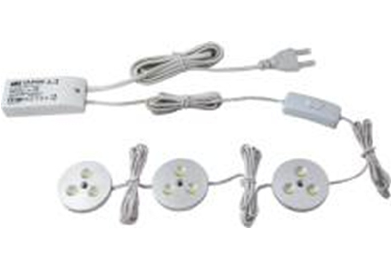 LEDware | LED Kastverlichting set | 3 Lampjes | 3 x 3 Watt
