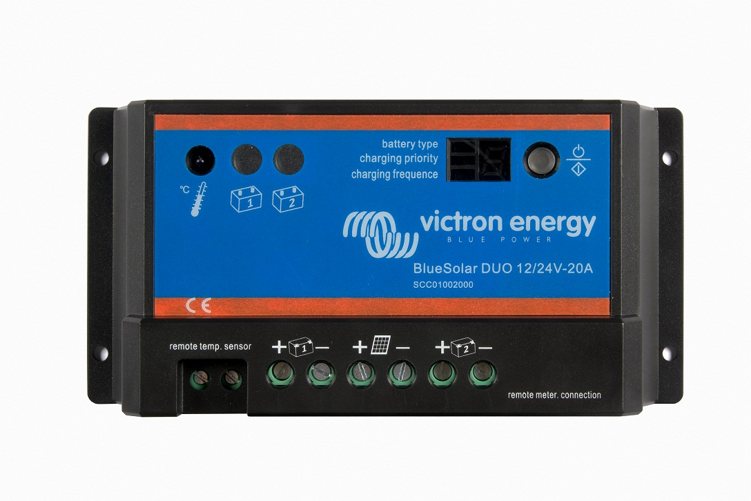 ZonneCharger | BlueSolar 12/24 Volt - 20 Ampere