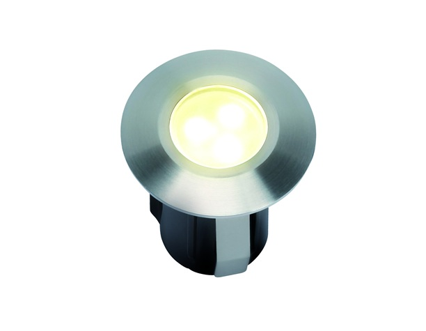 LED Grondspot | 12 Volt | Vierkant | 0,5 Watt | Warm Wit | Alpha