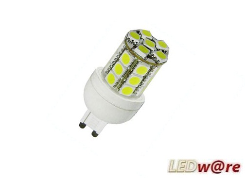 LED steeklampje | 220 Volt | 24 LED | 5 W | VV 35 W | Warm Wit |